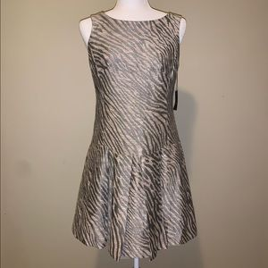 NWT! Nanette Lepore Animal Print Mini Dress 3003